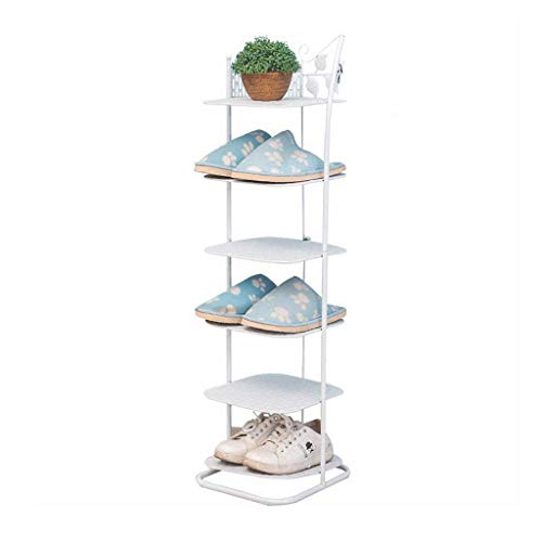 GOHHK Hogar Estante para Zapatos 6 Niveles Torre Almacenamie