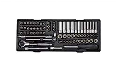 JTC 6.3mm 73PCS ソケットコンビネーションセット T型 E型 トルクス スター 特殊 ネジ ボルト ソケット JTCK2735