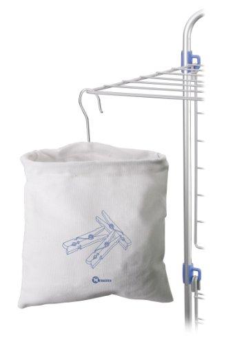 Metaltex 405190 - Bolsa Pinzas Tender algodón