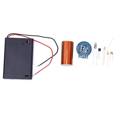 【𝐅𝐫𝐮𝐡𝐥𝐢𝐧𝐠 𝐕𝐞𝐫𝐤𝐚𝐮𝐟】Tesla-Spule, schönes, praktisches, stabiles, elektronisches DIY-Kit, langlebig, zuverlässig für Experimente mit Studenten Kursdesign(Spare parts)