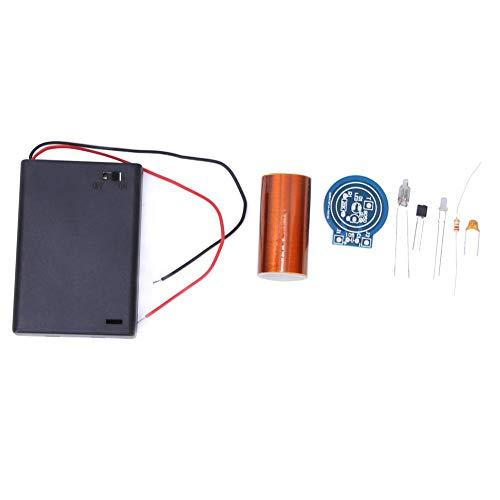 Tesla-Spule, schönes, praktisches, stabiles, elektronisches DIY-Kit, langlebig, zuverlässig für Experimente mit Studenten Kursdesign(Spare parts)