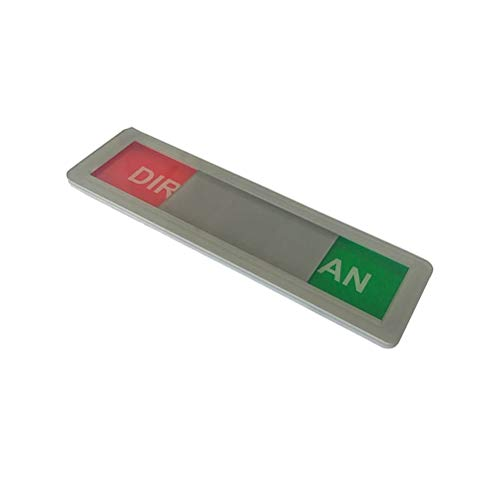 bestonzon Geschirrspüler Magnet Clean Dirty Sign starker Magnet Indicator Tells OB Gerichte sind sauber oder Dirty (grau)