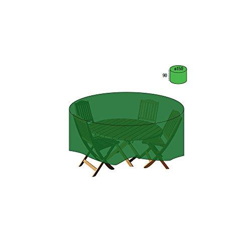 Papillon 8327030 – Housse de Protection pour Table Ronde, Ø150 x 90 cm