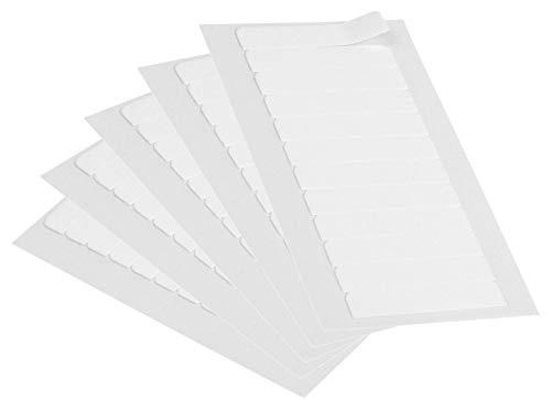 Frohlocke Ersatztapes Klebestreifen Klebeband für Tape Extensions Hohe Klebekraft, leicht zu entfernen (60 Klebestreifen)