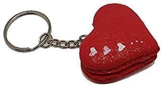 Cuore Rosso Portachiavi in pasta panna - @FoamArtitaly -