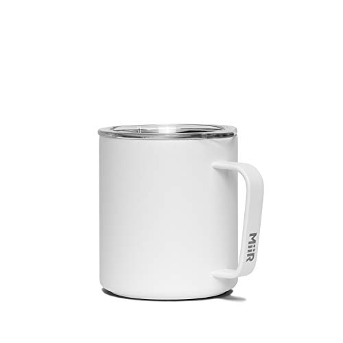 MiiR, Insulated Camp Cup for Coffee or Tea in the Office or Camping, White, 12 Oz