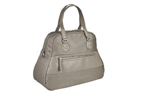 Lässig Wickeltasche Vintage Bowler Bag, mud
