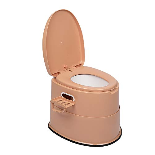 Car Toilets -Portable Toilets - Hiking & Camping Toilets - Mobile Toilets during Self-driving Trips - Skidproof (BROWN)