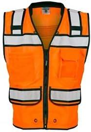 Kishigo S5004 Max 56% OFF High SEAL limited product Performance Surveyors Yellow - Safety Vest Li