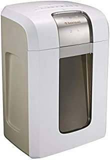 Bonsaii Paper Shredder, 240 Minutes Continuous Shredding, 10-Sheet Micro Cut (25/64 inches) with 7.9 Gallons Wasterbasket,...