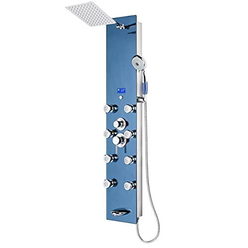 """Blue Ocean 52"""" Stainless Steel SPV878392H Shower Panel..."""