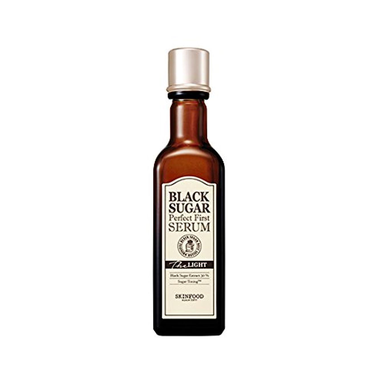 スリーブ知覚的と闘うSkinfood black sugar perfect first serum the light/黒糖完全最初血清ライト/120ml + 60? [並行輸入品]