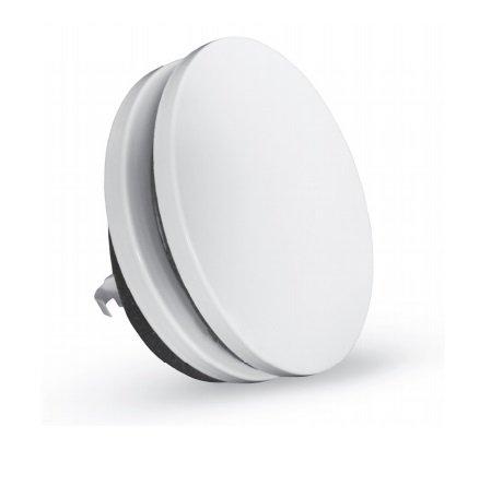 Zuluftventil Stahlblech weiß rund DN 125 mm