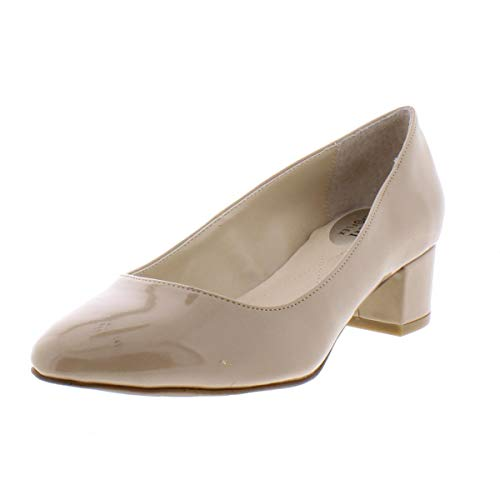 Alfani Womens Daleah Pointed Toe Classic Pumps Khaki