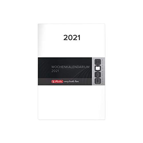 herlitz 50029945 Ersatzkalendarium 2021 für Timer Flex A5, 1 Stück
