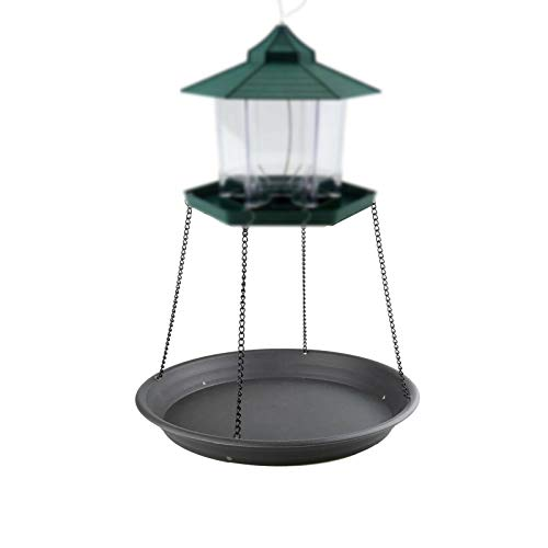 AUXPhome Bird Seed Catcher Tray Platform Feeder Hanging Tray Outdoors Backyard Garden for Bird Feeders, Great for Attracting Birds Outdoors, Backyard, Garden. Help Reduce Seed Waste - No Feeders