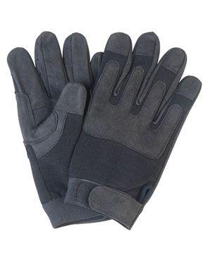Security EINSATZHANDSCHUHE Army Gloves SCHWARZ/M