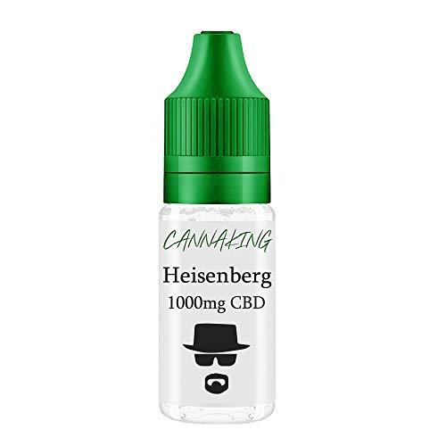 CBD Premium Liquid von Canna King 500mg 300mg 200mg 100mg 50mg Nikotionfrei (Heisenberg, 1000mg)