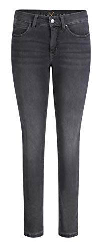 MAC Jeans Damen Dream Skinny Jeans, Grau (Dark Grey Used Wash D975), W42/L30