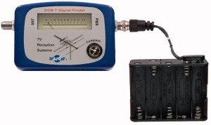 DIGITSAT - DVB-T SIGNAL FINDER -strumento per misurare l intensita  del segnale TV digitale terrestre con BUSSOLA incorporata