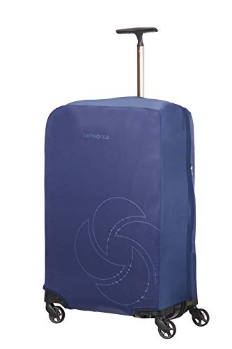 Samsonite Global Travel Accessories - Coperture Pieghevole per Valigia, L, Blu (Midnight Blue)