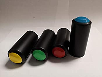 4 pcs Battery Cover Cap Cup for GTD Audio Wireless Hand held Microphone