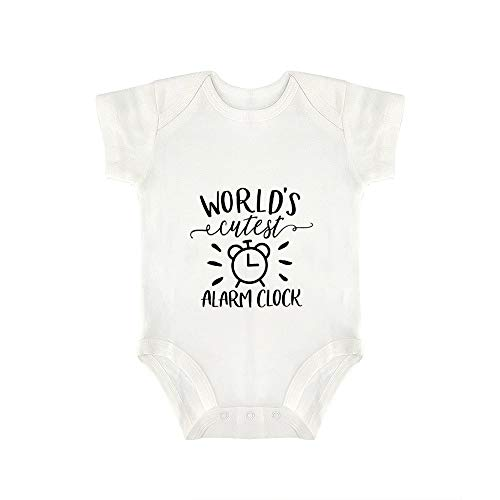 Promini Lindo bebé mono más lindo reloj despertador bebé mono bebé una pieza bebé mameluco mejor regalo para bebé