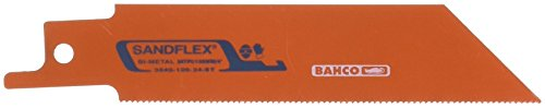 Bahco 3840-100-24-ST-5P - Sabre Bimetal 24 St 100Mm 5P