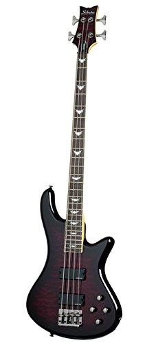 Schecter Stiletto Extreme-4 Bass Guitar (4 String, Black Cherry)