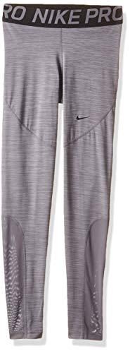 Nike Women's Pro Training Tights (Gunsmoke, Small)