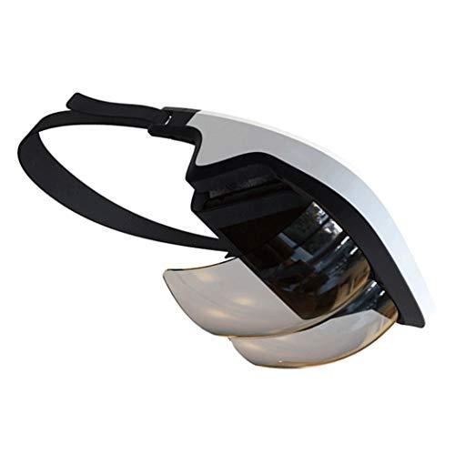 JYMYGS VR Brille, HD 3D Virtual Reality Brille, für 3D Film und Spiele, Geeignet 4,0-6,0 Zoll Smartphone Handy für iPhone SE 6/6s/7/8/X/XS, Samsung Galaxy S6/S7/S8/S9, Huawei p10/p20. N046JL