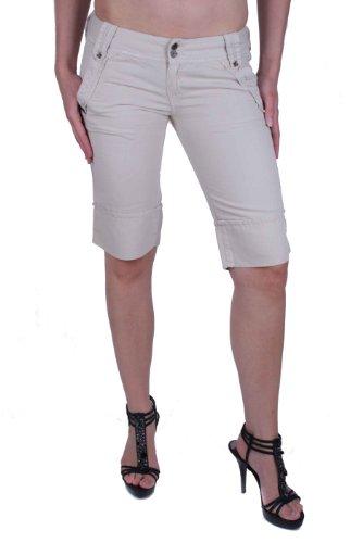 Diesel Louver Pantaloni Damen Bermuda Shorts (Beige, W28)