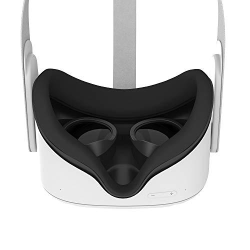 AMVR [Pro Version] Objektiv-Anti-Kratzring, der Myopie-Brillen vor Kratzern schützt VR-Headset-Objektiv Kompatibel mit Oculus Quest 2, Quest, Rift S oder Oculus Go (Black)