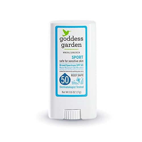 Goddess Garden - Sport SPF 50 Mineral Sunscreen Stick - 1 Unit
