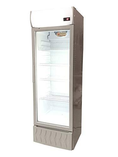 Frigo vetrina bibite refrigerata 1 anta in vetro 0 +10°C 235 litri lt