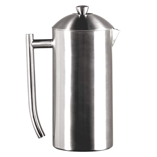 Frieling USA Double-Walled Stainless-Steel French Press...
