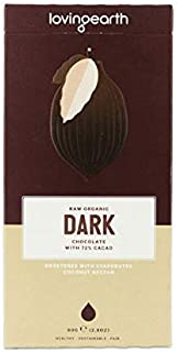 Loving Earth Dark Chocolate with 72% Cacao 80 g