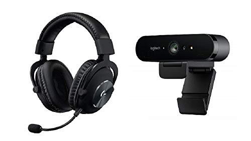 Logitech G PRO X (2. Generation) Gaming-Headset + G910 Mechanische Gaming-Tastatur (mit RGB Orion Spectrum, Deutsches Tastaturlayout)