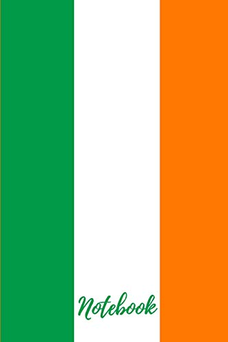 Notebook: Ireland Small / Medium Lined A5 Notebook (6 x9
