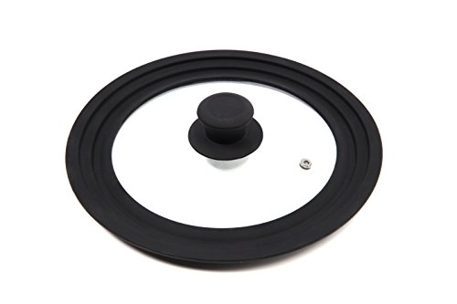 """J&C LIFE Silicone Lids for Pans, Pots & Skillets 
