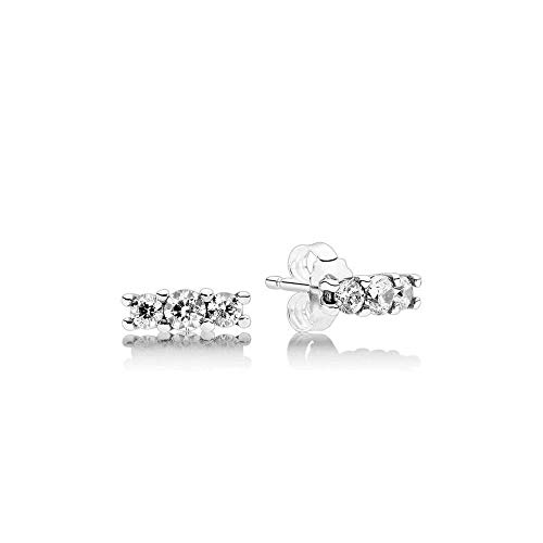 Pandora Sterling Silver Sparkling Elegance Earring Studs 290725CZ