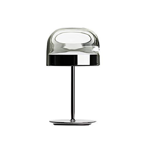 Lámpara de Aprendizaje Metal LED lámpara de escritorio Eye-cuidado lámparas de mesa Con Cortina de cristal Mesilla de noche estilo antiguo escritorio de oficina Lámparas dormitorios El ahorro de Energ