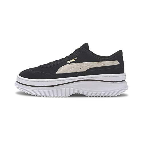 PUMA Deva Suede W 372423 03 Sneaker Woman Suede Black White 37