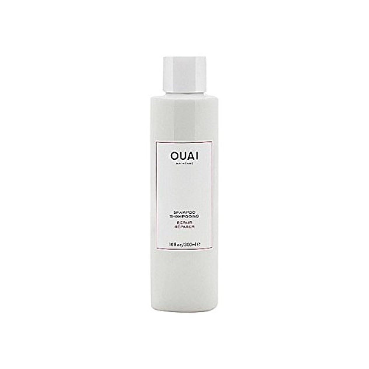 散歩日焼け見分けるリペアシャンプー300ミリリットル x2 - Ouai Repair Shampoo 300ml (Pack of 2) [並行輸入品]