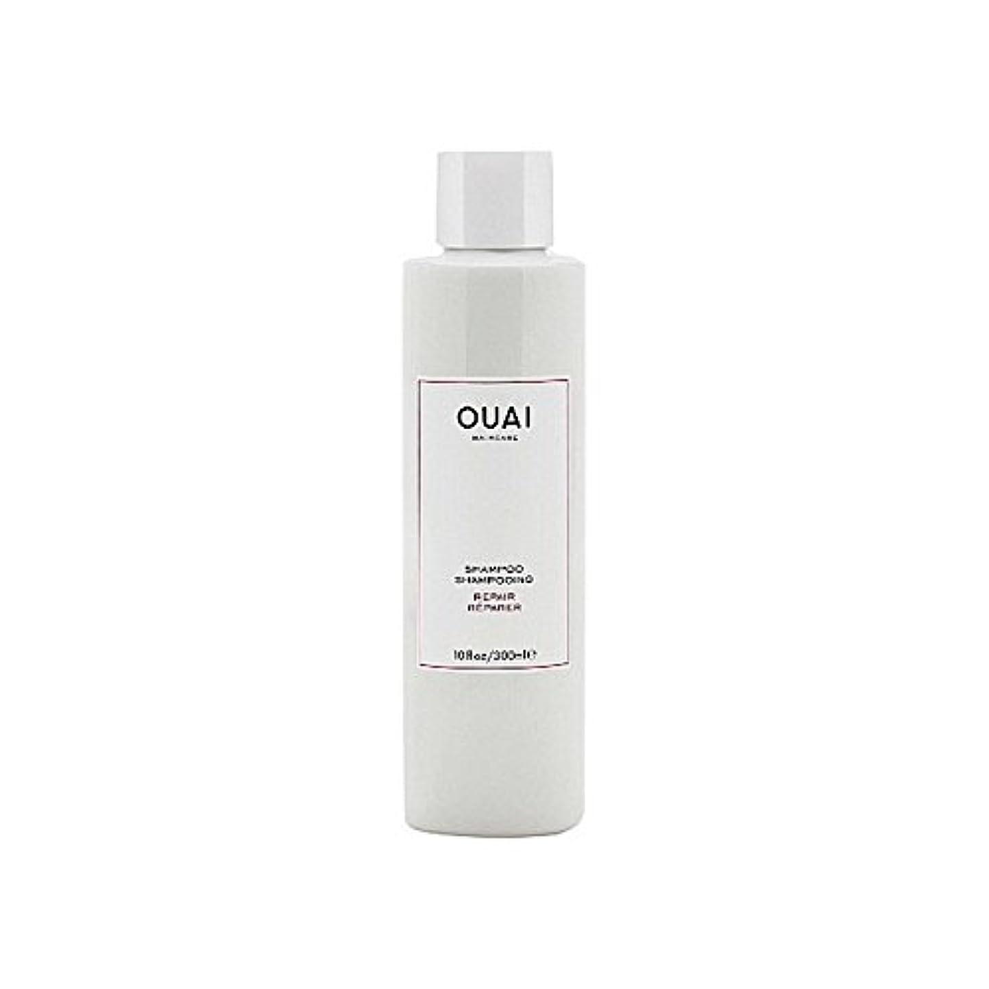 広々とした支給ジャーナルリペアシャンプー300ミリリットル x2 - Ouai Repair Shampoo 300ml (Pack of 2) [並行輸入品]