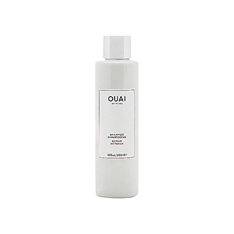 Ouai Repair Shampoo 300ml (Pack of 6) - リペアシャンプー300ミリリットル x6 [並行輸入品]