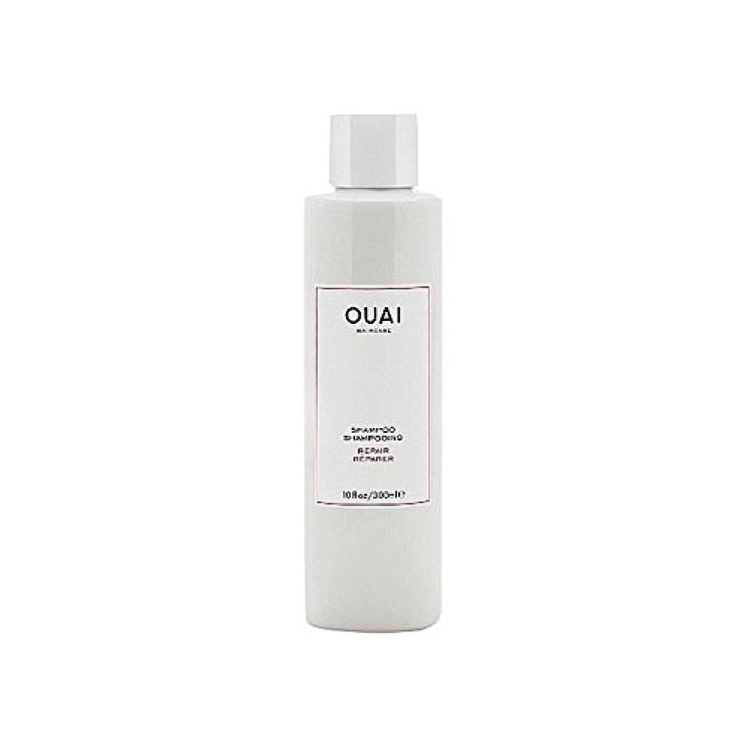 窓定規思い出すリペアシャンプー300ミリリットル x4 - Ouai Repair Shampoo 300ml (Pack of 4) [並行輸入品]