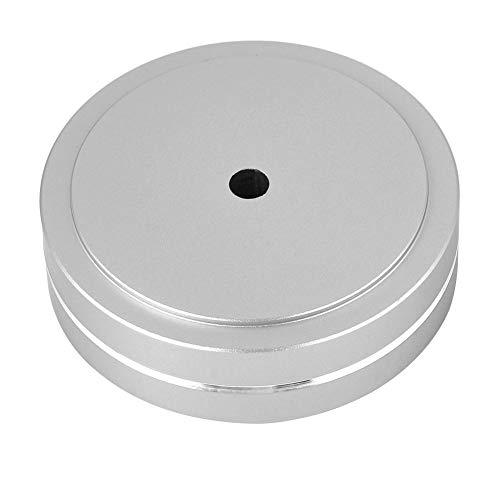 SANON 4 Piezas de Aluminio Altavoz Pies de Aislamiento Almohadilla