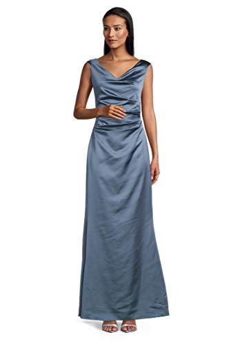 Vera Mont 0133/4822 Vestido de cóctel, Blue Dust, 40 para Mujer