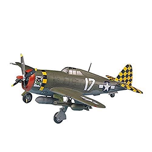 ACADEMY 12492 P-47D Thunderbolt Razorback, Multicolor